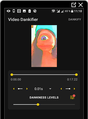 Редактор видео для Deep Tik Tok